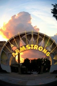Armstrong sunset, NOLA, 2013-06-04