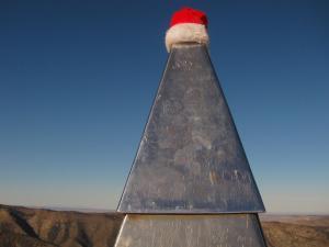 2017 Guad Peak Santa hat*