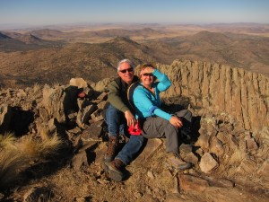 Brenda & Clif Ladd, Baldy Peak, Mt. Livermore W. TX*