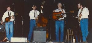 "Cold Springs Bluegrass BandLeesport, PA, 1990TC, Dennis Cash, Neil Morris, ""Oz"" Nauman"