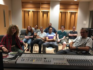 first Recording 2 class, Sept. 2016