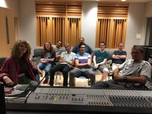 first Recording 2 class, Sept. 2016