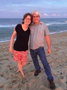 Liz and TC, Belmar Beach, NJ, July 6, 2018