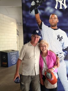 Me, mom and Jeter 2014
