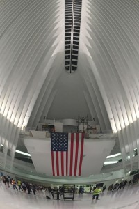 Oculus, NY Transportation hub, July 2106
