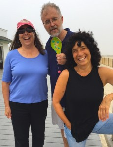Rosanne, Bill and Lisa. Pt. Pleasant, NJ June 2017