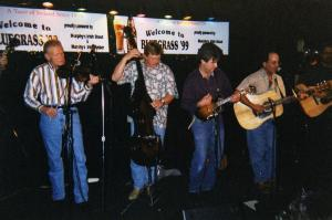 Vassar Clements w: Burnt Toast band NYC 1999