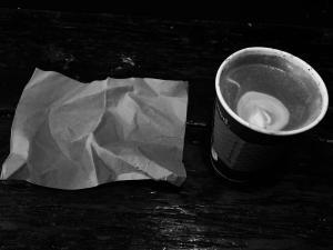 napkin and mocha