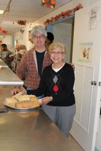 volunteer food kitchen Beth PA 2012